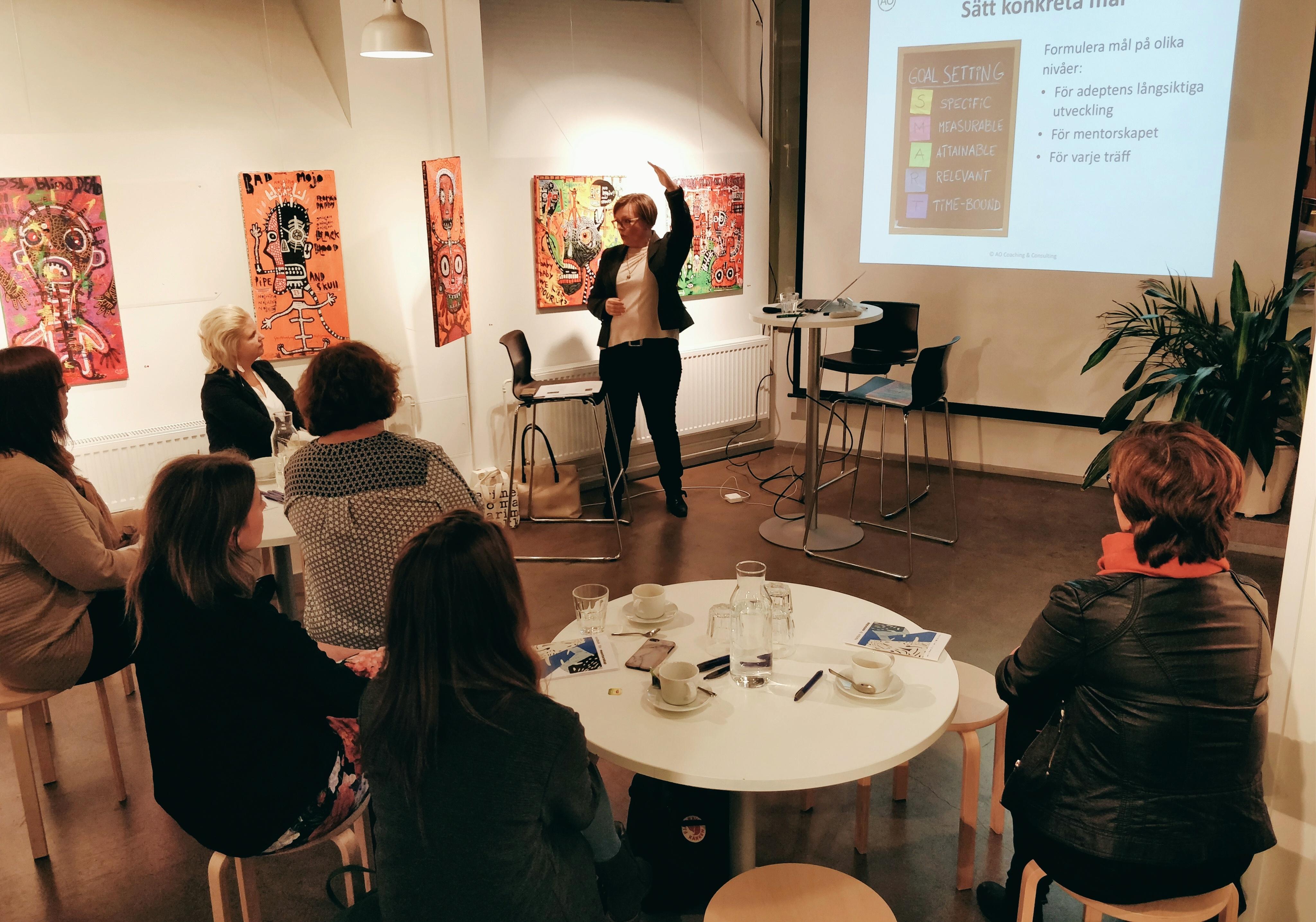 Kick off-tillfälle för Arcadas mentorprogram